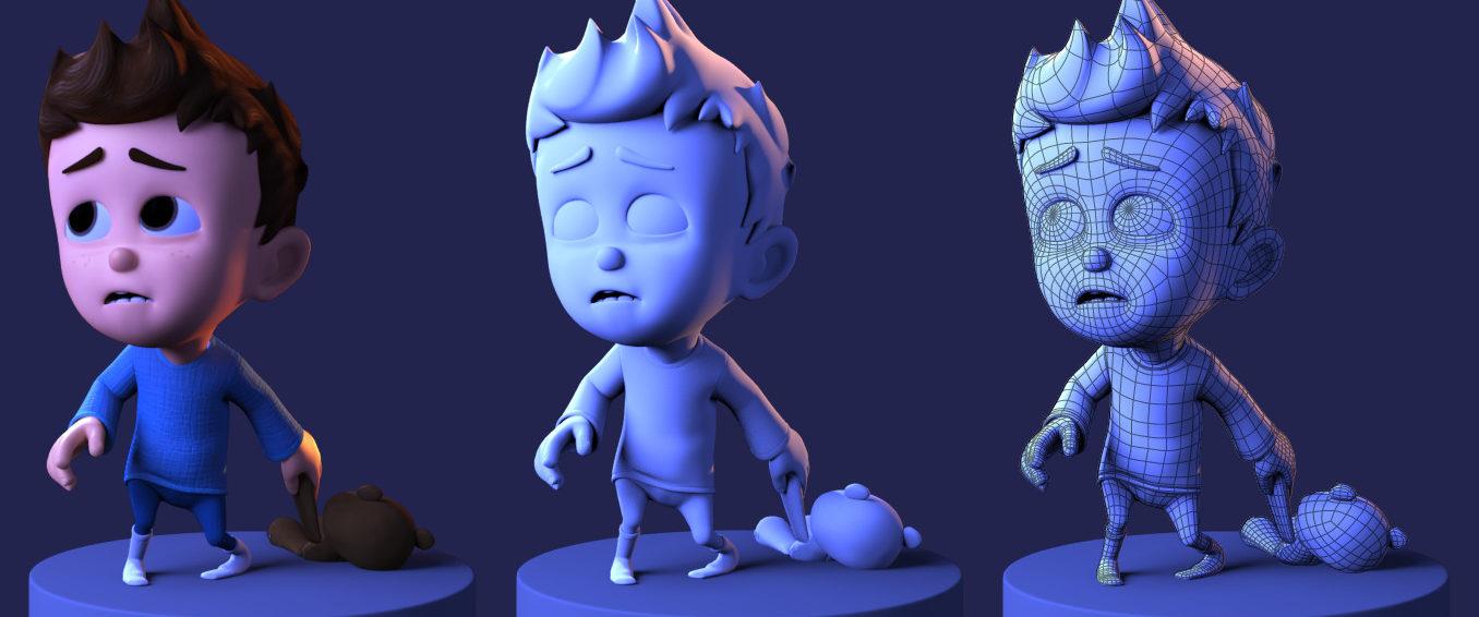 Анимация в 3д картинки