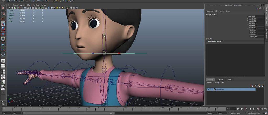 Изготовление 3D анимации