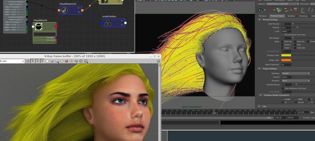Разработка 3D персонажей