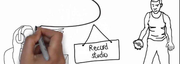 Рисованное видео для сайта