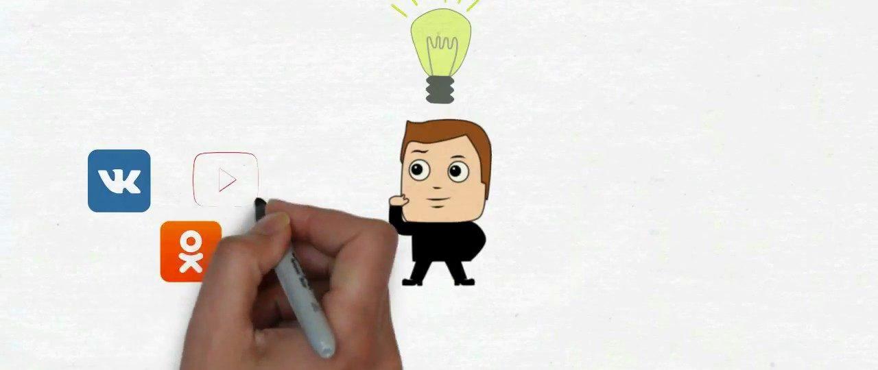 Создание дудл видео