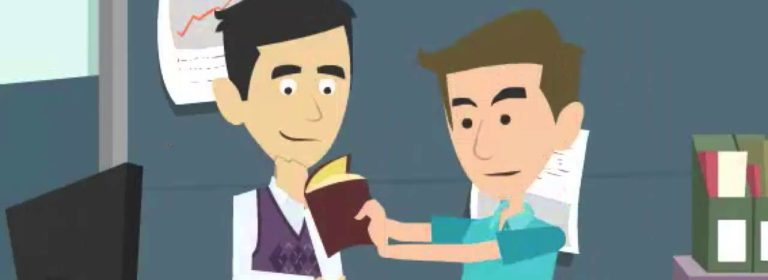 Анимационная заставка для видео