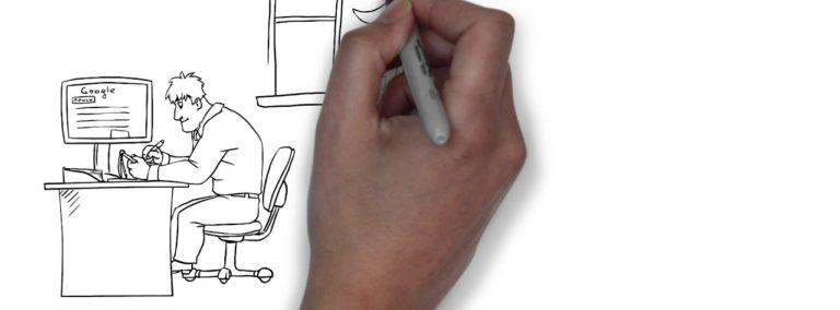 Рисованный рекламный ролик