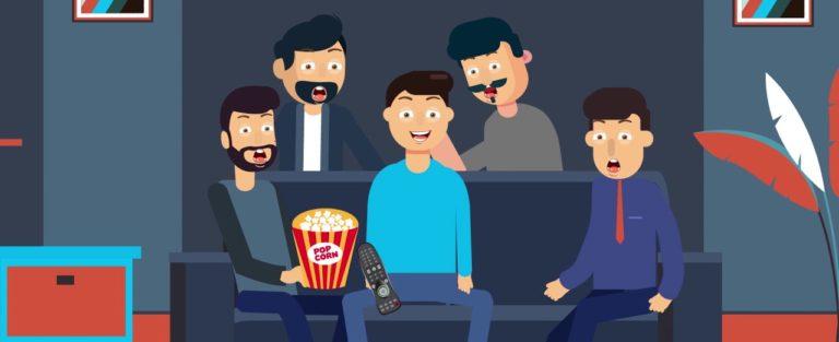 Сайт анимационной студии