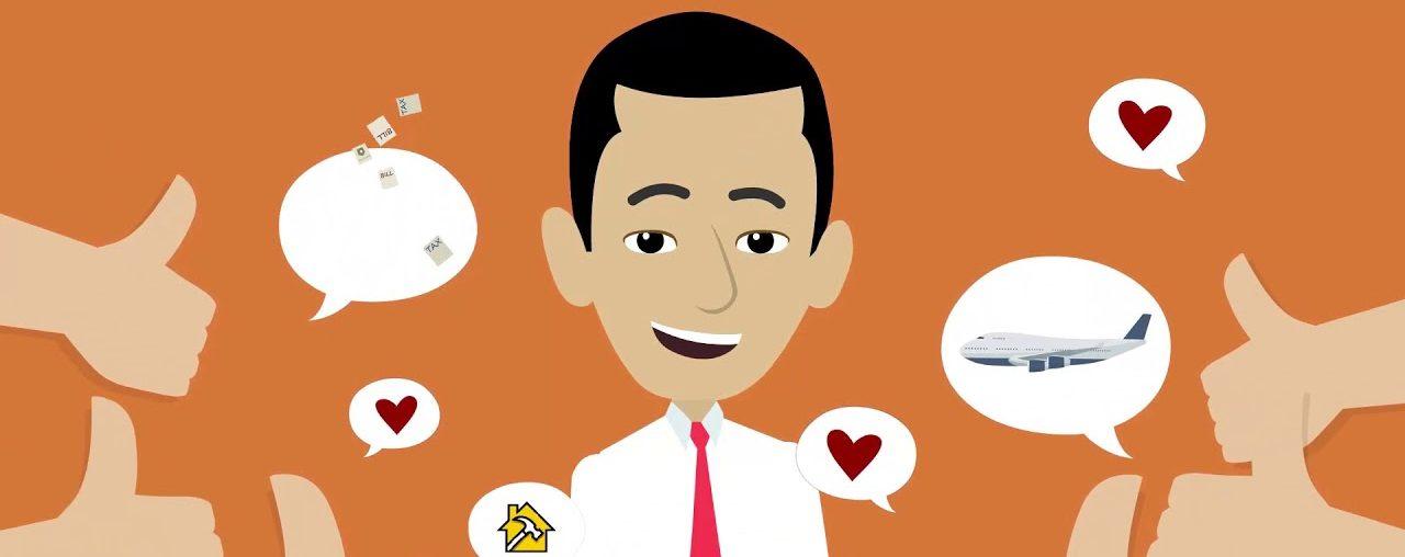 Анимационное видео для сайта